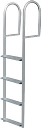 3-Step Stationary Dock Ladder, Wide Step