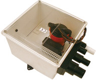 Multi Port Shower Sump, 12V