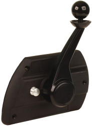 Control, Single, Side Mount, w/Neutral Safety Switch