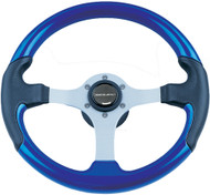 Leather Look Wheel, Blue