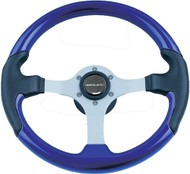 Leather Look Wheel, Purple