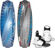 Wakeboard, 134cm, w/Boss Bindings