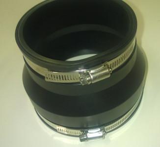 "Adaptor Coupling 104-111mm to 76-85mm (4"" CI / PVC to 3"" CI / PVC)"