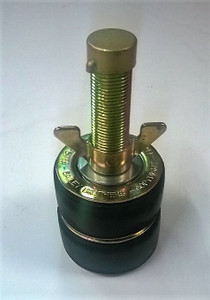 "Double Seal 50mm Steel Drain Test Plug with 1/2"" outlet"