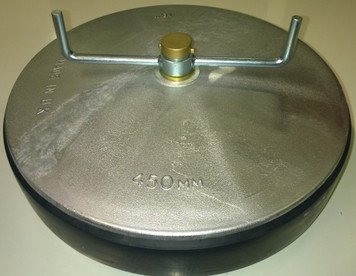 """450mm with Aluminium Plates and 1"""" outlet"""