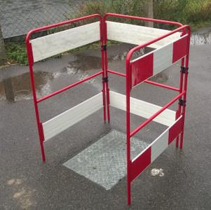 Complete 3 Gate Major Barrier