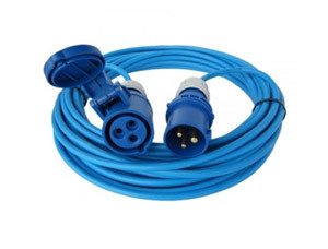 14m Extension Lead 16A 240V Round Pin