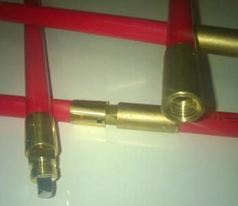 Nuflex Lockfast Rod - 2.0 m long x 22 mm