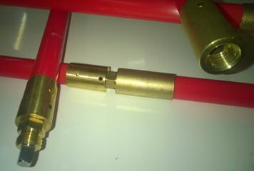 Nuflex Lockfast Rod - 1.0 m long x 25 mm