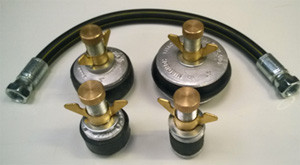 "Optional 18"" Flexible Coupling Hose and Bung Set"