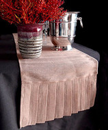 "AK-Trading 14"" x 114"" Juco Burlap & Cotton Blend Table Runner"