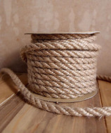 AK-Trading 6mm x 10 Yards Jute Rope Cord Twine (Natural)