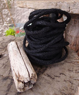 "AK-Trading Decorative Jute Wired Rope 1/4"" X 9 Yards (Black)"