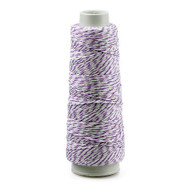 Baker's Twine 2 Ply 100 Yard Spool - Select from 8 Colors (Purple)