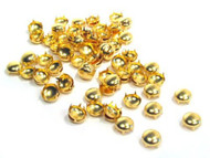 Pack of 100pcs 10MM GOLD Round Dome Metal Studs Spots Nailheads Fastners