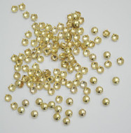 Pack of 100pcs 8MM GOLD Round Dome Metal Studs Spots Nailheads Fastners