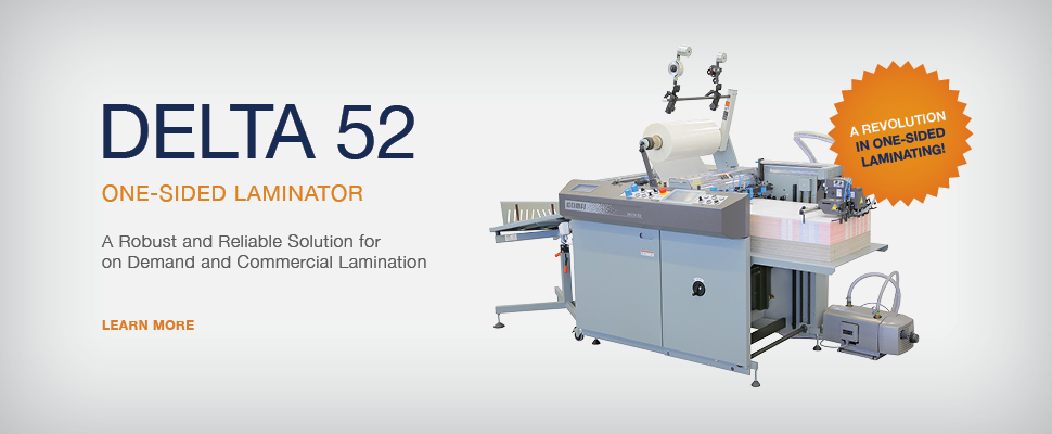 Delta 52 - One Sided Laminator