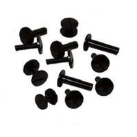 Fastin™ Poly Binding Posts & Screws (Black)