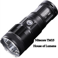 Nitecore TM15 Tiny Monster 2650 Lumen 3x CREE XM-L2 LEDs
