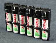 Storacell by Powerpax Slimline AAA - Black - Battery Storage System