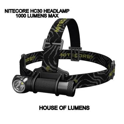 NITECORE HC30 1000 LUMEN HEADLAMP