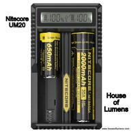 Nitecore UM20 Battery Charger HOL