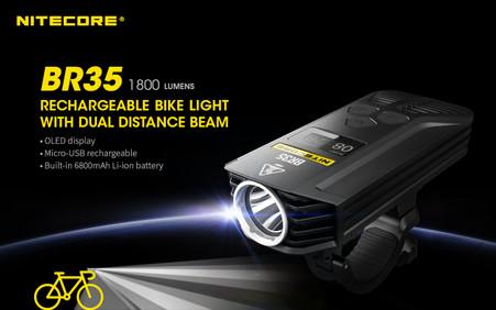 Nitecore BR35 1800 Lumen Bike Light 001