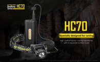 Nitecore HC70 1000 lumens rechargeable headlamp