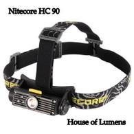 Nitecore HC90 900 Lumen Headlamp Cree XM-L2 T6