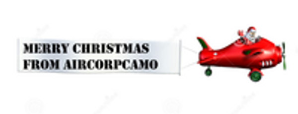 Merry Christmas and Happy New Year from Aircorpcamo