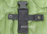 Back Strap for the Ontario M9 Bayonet - Black Color - Genuine - NEW - USA Made