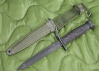 BOC M7 Bayonet with M8A1 PWH Scabbard - Genuine Military - USA Made (10323)