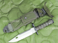 Phrobis M9 Bayonet with Scabbard - 4 Line - Complete - Unissued - USA Made (11776)