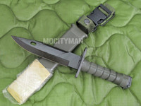 Lan-Cay M9 Bayonet with Scabbard - Unissued Late Model 1998 - Genuine Military - USA Made (11584)