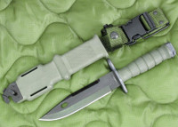 Ontario M9 Bayonet with Scabbard - Unissued 2009 Model - Genuine Military - USA Made (9798)