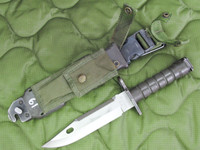 Phrobis M9 Bayonet with Scabbard - 4 Line - Complete - USA Made (11623)