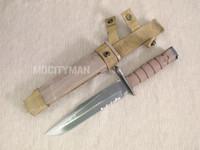 Ontario USMC OKC-3S Bayonet with Scabbard - Genuine Military - USA Made (11848)