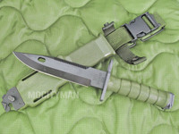 06MA8 Tri-Technologies M9 Bayonet with Scabbard - New - USA Made (12577)