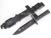 Ontario SOCOM Commemorative M-9 Bayonet with Scabbard - USA Made (12550)