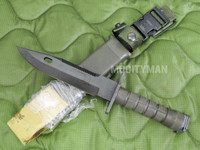 Lan-Cay M9 Bayonet with Scabbard - Unissued 1995 Model - Genuine Military - USA Made (11573)