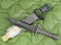Lan-Cay M9 Bayonet with Scabbard - Unissued 1995 Model - Genuine Military - USA Made (11564)