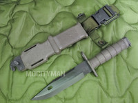 Lan-Cay M9 Bayonet with Scabbard - Late Model 2003 - Genuine Military - USA Made (12831)
