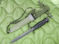 Conetta M7 Bayonet with M8A1 PWH Scabbard - Genuine Military - USA Made (13627)