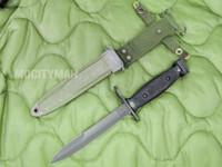 Conetta M7 Bayonet with M8A1 PWH Scabbard - Genuine Military - USA Made (13619)