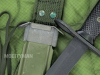 BOC M7 Bayonet with M8A1 PWH Scabbard - Genuine Military - USA Made (13660)
