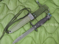 Conetta M7 Bayonet with M8A1 PWH Scabbard - Genuine Military - USA Made (13670)