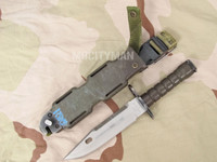 Phrobis M9 Bayonet with Scabbard - 4 Line - USA Made (13906)
