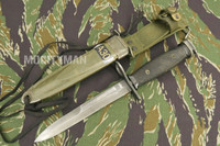BOC M7 Bayonet with M8A1 PWH Scabbard - Genuine Military - USA Made (14238)