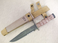 Ontario USMC OKC-3S Bayonet with Scabbard - Genuine Military - NICE - USA Made (12002)