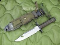 Phrobis M9 Bayonet with Scabbard - 4 Line - Complete - USA Made (13411)